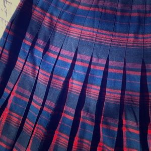 Vintage Pendleton Pleated Skirt